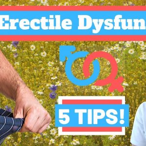 How to FIX erectile dysfunction for good! - Doctor Explains!