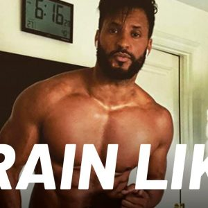 "Ricky Whittle's Full-Body ""American Gods"" Workout | Train Like a Celebrity | Men's Health"