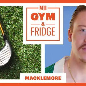 Macklemore Shows His Home Gym & Fridge | Gym & Fridge | Men's Health