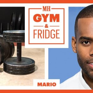 Mario Shows His Gym & Fridge | Gym & Fridge | Men's Health