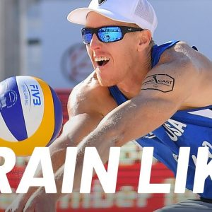 Men's Olympic Beach Volleyball Workout | Train Like a Celebrity | Men's Health