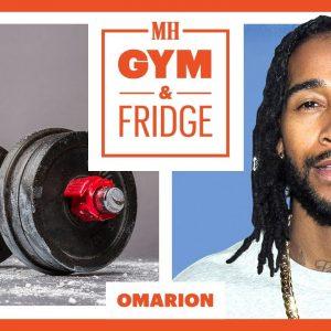 Omarion Shows His Gym & Fridge | Gym & Fridge | Men's Health