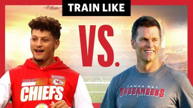 We Compared Patrick Mahomes and Tom Brady's Training Styles   Train Like a Celebrity   Men's Health