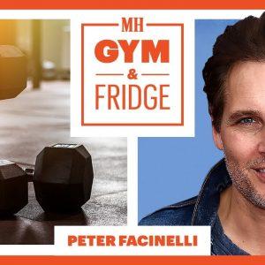 Peter Facinelli Shows His Home Gym & Fridge | Gym & Fridge | Men's Health