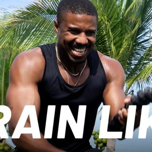 Michael B. Jordan's 10-to-1 Total-Body Ladder Workout | Train Like A Celebrity | Men's Health