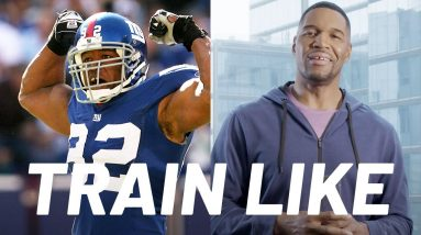 Michael Strahan Breaks Down His Training from NFL to GMA   Train Like a Celebrity   Men's Health