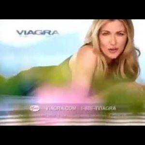 Viagra Ad with British Woman