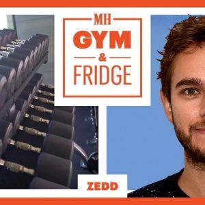 Zedd Shows His Home Gym & Fridge | Gym & Fridge | Men's Health