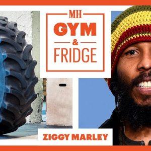 Ziggy Marley Shows His Gym & Fridge | Gym & Fridge | Men's Health