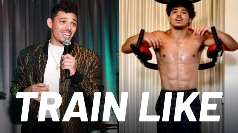 Anthony Ramos' 'In the Heights' Ripped Core Workout | Train Like a Celebrity | Men's Health