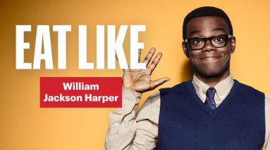 Everything William Jackson Harper Eats in a Day   Eat Like a Celebrity   Men's Health