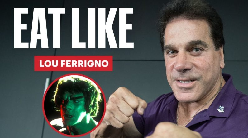 Everything The Hulk Eats in a Day | Eat Like a Celebrity | Men's Health