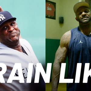 CC Sabathia on Losing Over 50 Pounds and Getting Ripped | Train Like a Celebrity | Men's Health