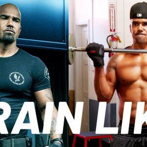 """Shemar Moore's """"S.W.A.T."""" Chest and Shoulders Workout 