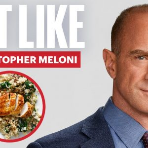 Everything Christopher Meloni Eats in a Day to Get Those Glutes  | Eat Like | Men's Health