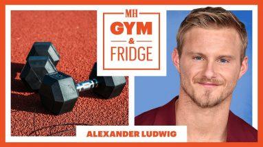 Vikings Star Alexander Ludwig Shows His Home Gym & Fridge | Gym & Fridge | Men's Health