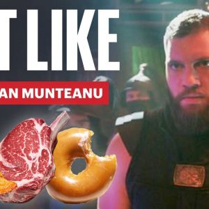 Everything Shang-Chi star Florian Munteanu Ate to Get Absolutely MASSIVE | Eat Like | Men's Health