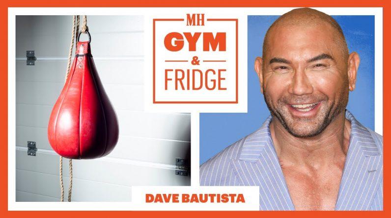Dave Bautista Shows Off His Home Gym And Fridge | Gym & Fridge | Men's Health