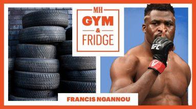 UFC Heavyweight Champion Francis Ngannou's EVERYDAY Training Routine   Gym & Fridge   Men's Health