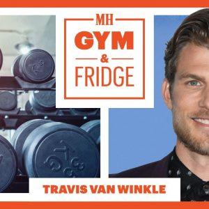 'You' Star Travis Van Winkle Opens His Home Gym & Fridge | Gym & Fridge | Men's Health