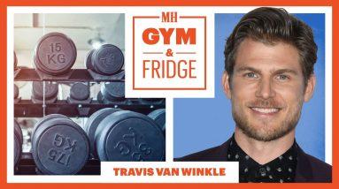 'You' Star Travis Van Winkle Opens His Home Gym & Fridge   Gym & Fridge   Men's Health